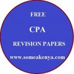 CPA Past Papers - KASNEB Free Download