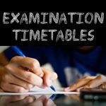 KASNEB Exams Timetables May 2021