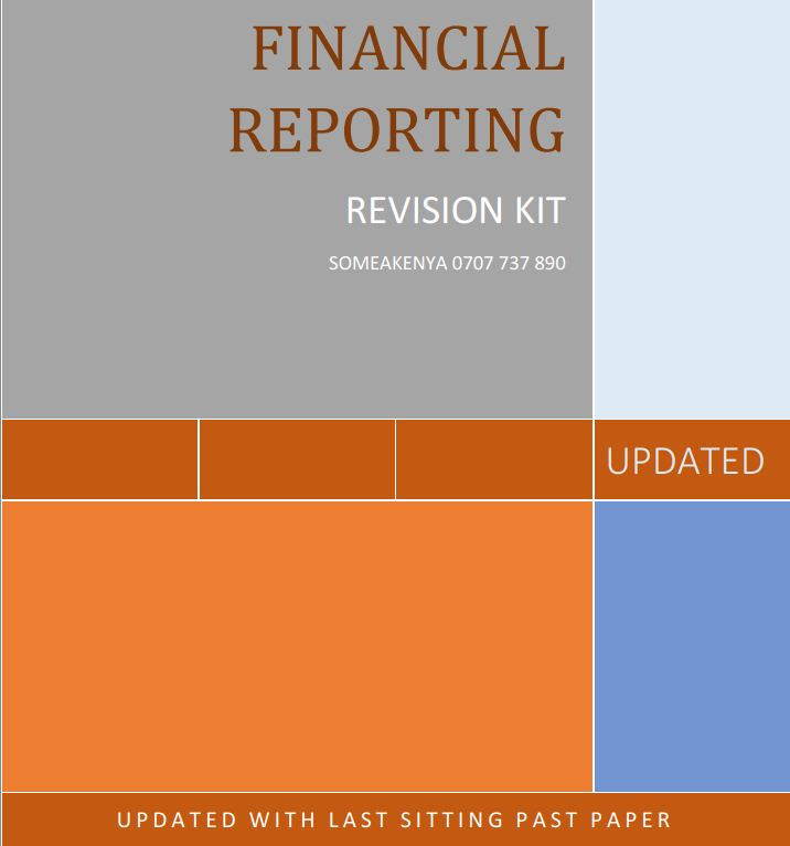 Financial Reporting revision kit