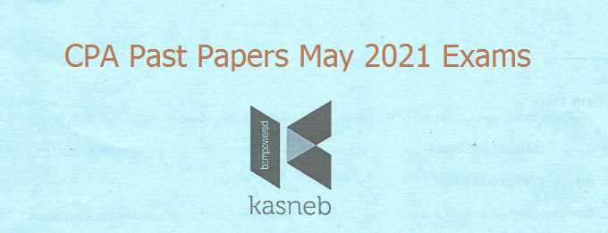 CPA Past Papers May 2021