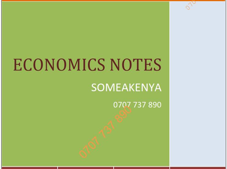 `Economics new revised CPA notes